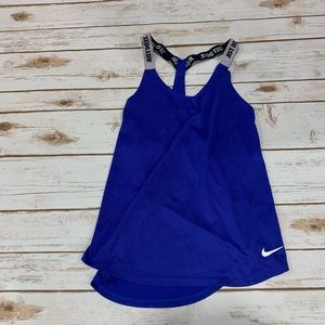 Nike Dri Fit Strappy Tank Top